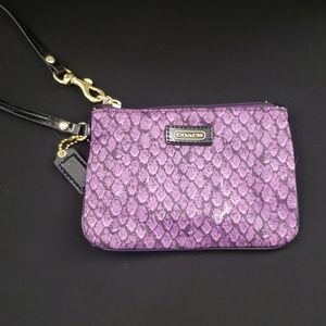 Coach | Purple | Wristlet